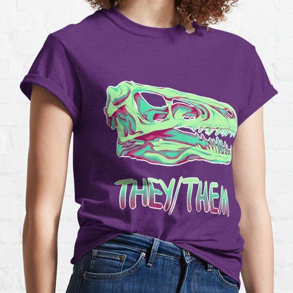 Velociraptor Skull Classic T-Shirt