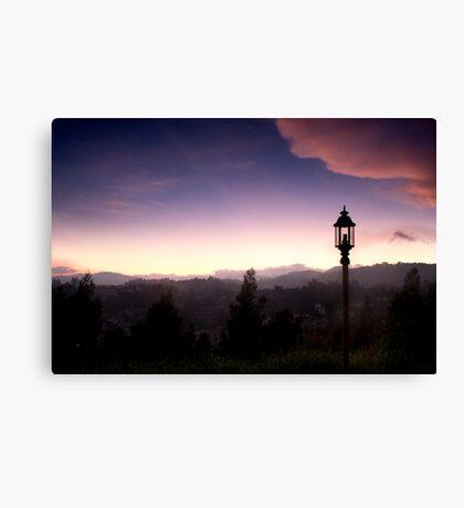 Light over Coonoor Canvas Print