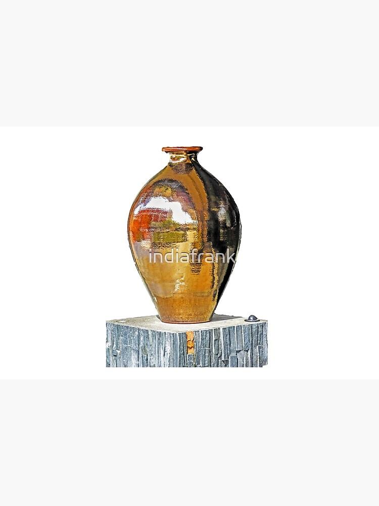 Bronze vase by indiafrank