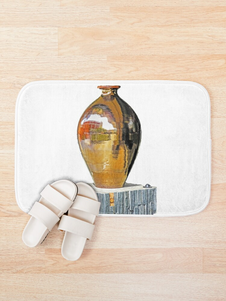 Alternate view of Bronze vase Bath Mat