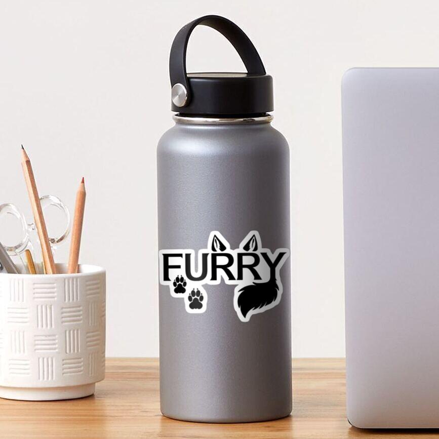 .Furry. Sticker