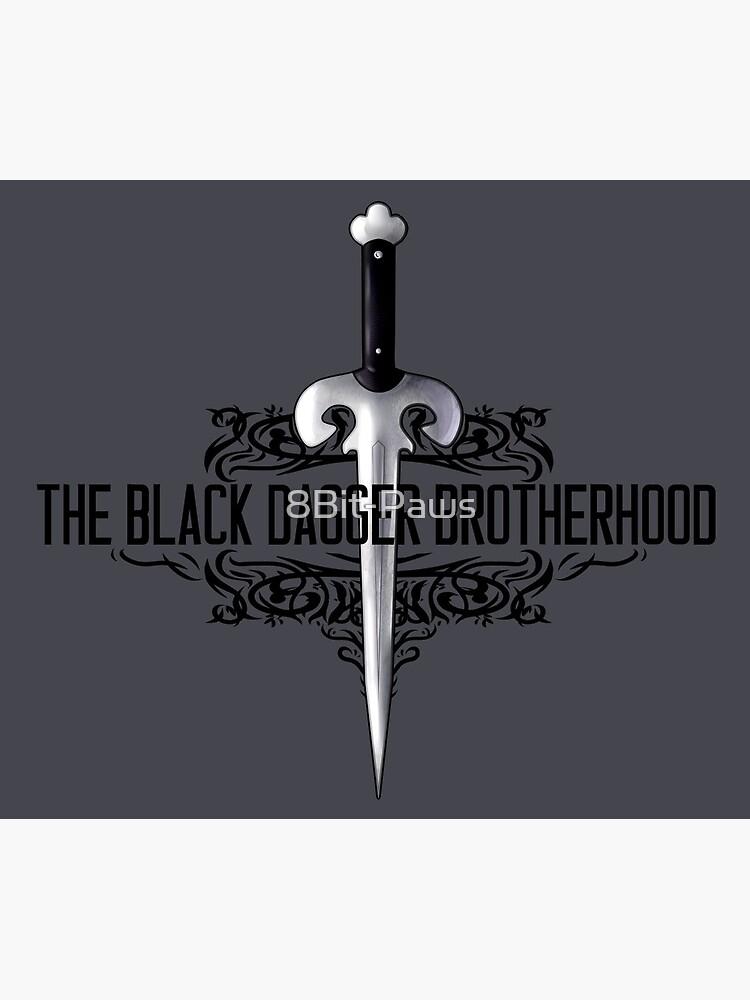The Black Dagger Brotherhood  [black text] by 8Bit-Paws