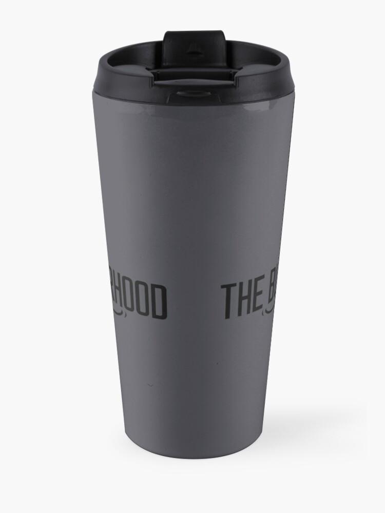 Alternate view of The Black Dagger Brotherhood  [black text] Travel Mug