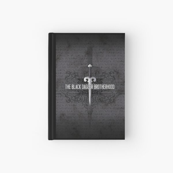 The Black Dagger Brotherhood  [black text] Hardcover Journal