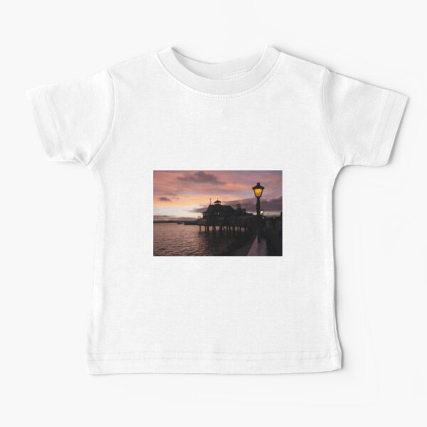 #Evening #view from the #waterfront at Seaport Village, San Diego, #California. #SeaportVillage #SanDiego #EveningView Baby T-Shirt