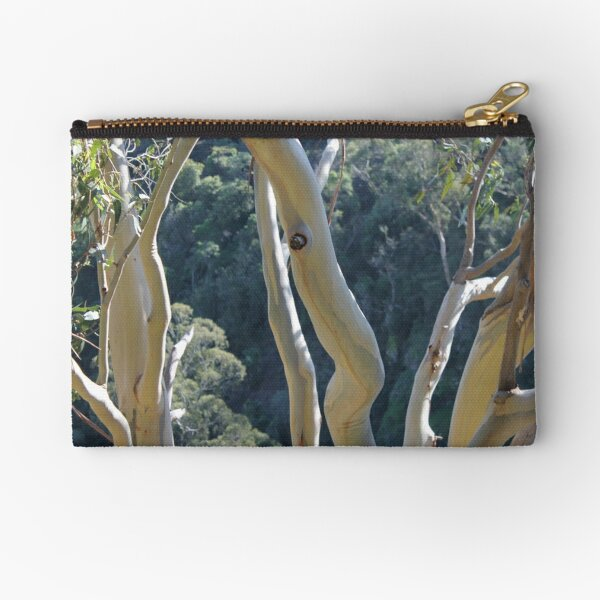 Dancing Gum Tree Bark Zipper Pouch