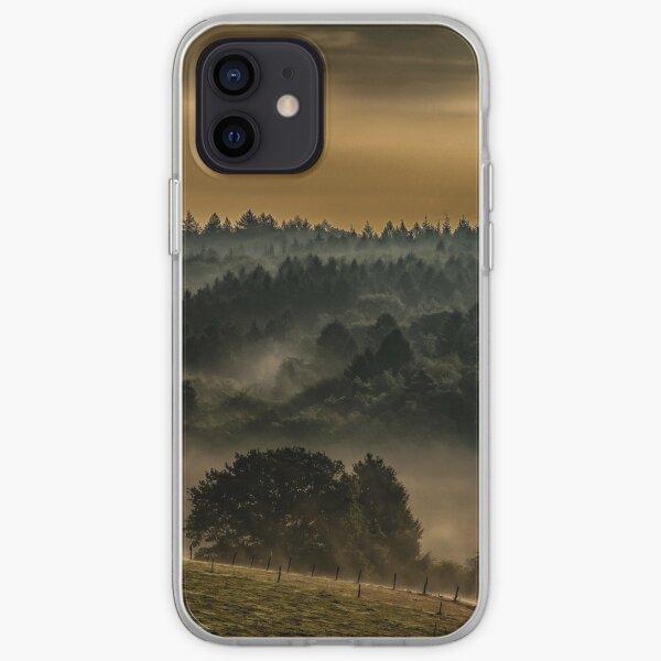 Morning haze landscape photography iPhone Soft Case