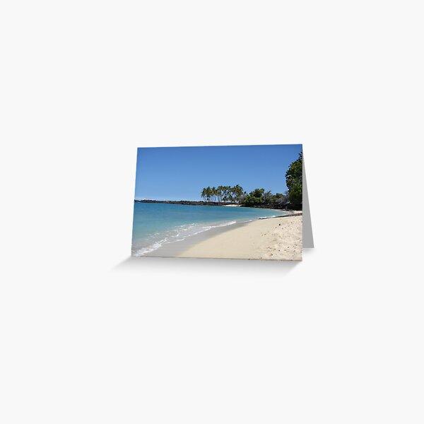 Kona State Beach Hawaii Greeting Card