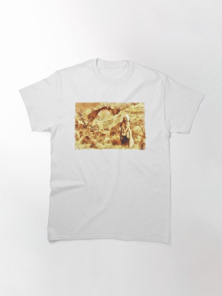 T-shirt classique ''Big Chief Sitting Bull': autre vue