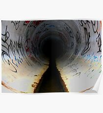 Sewer Seeker,San diego Tunnels Poster