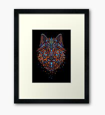 Shards of Predator Framed Print