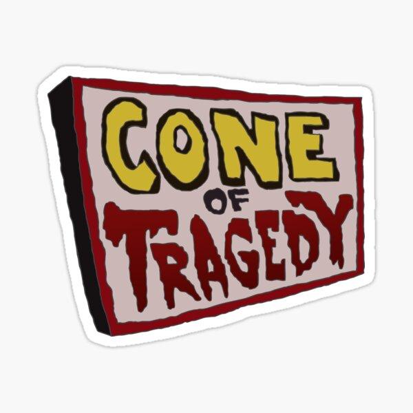 Sam and Max - Cone of Tragedy Sticker