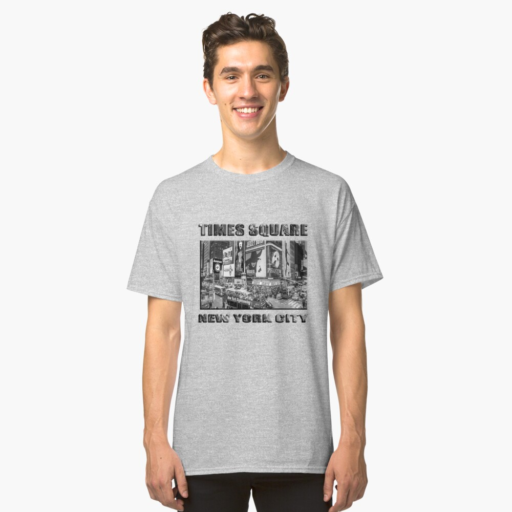 Times Square II Special Edition II (B&W) Classic T-Shirt