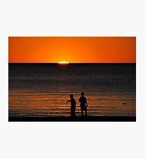 Sunset at Grange Photographic Print
