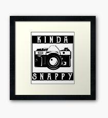 Photography Photographer Fan Lover Gift Framed Print
