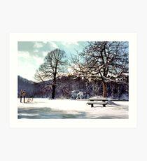 National Park Plitvice Art Print
