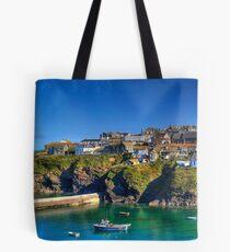 Port Isaac Cornwall Tote Bag