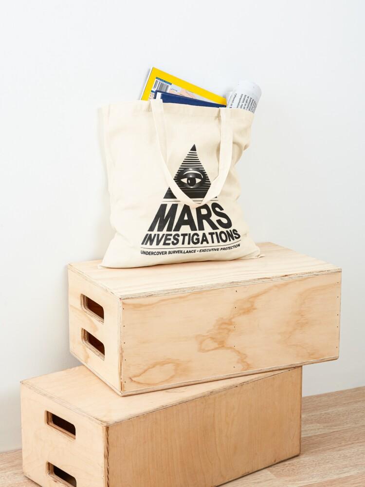 Alternate view of Mars investigation Tote Bag