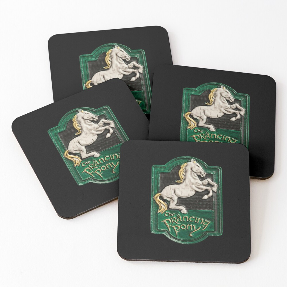 The prancing pony Coasters (Set of 4)