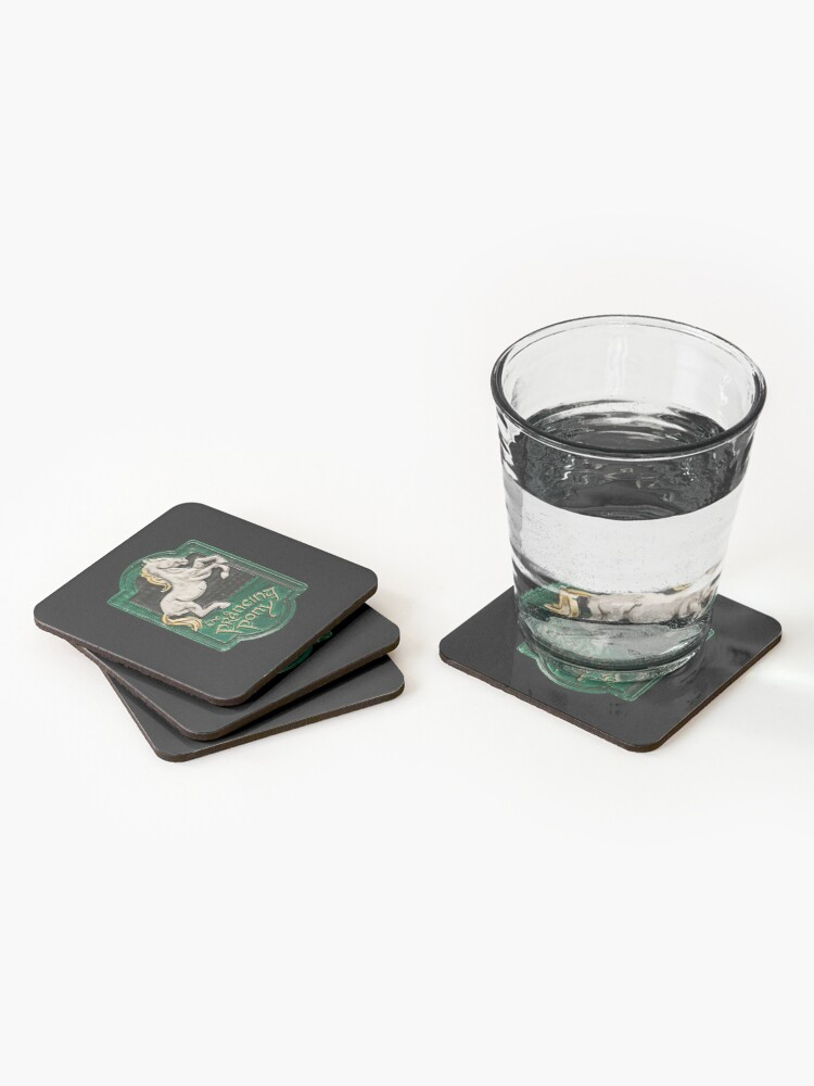 Alternate view of The prancing pony Coasters (Set of 4)
