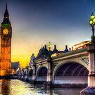 Westminster Bridge und Big Ben von Londonimages