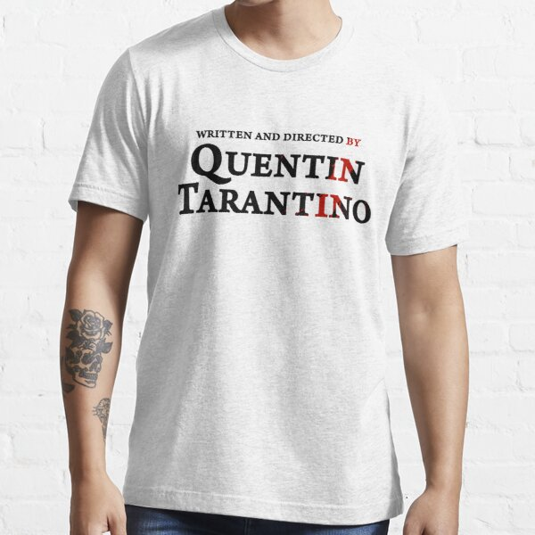 Bloody Written & Directed by Quentin Tarantino T-shirt essentiel