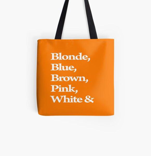 Orange Dogs Reservoir All Over Print Tote Bag