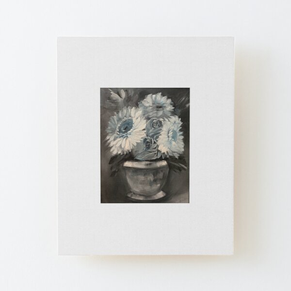 Decorated in Blue Wood Mounted Print