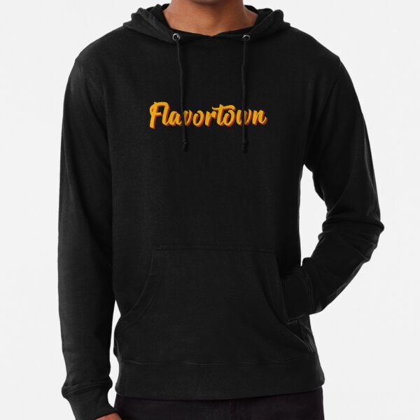 Funky Flavortown Design Lightweight Hoodie