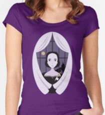 Mary Shelley Tailliertes Rundhals-Shirt