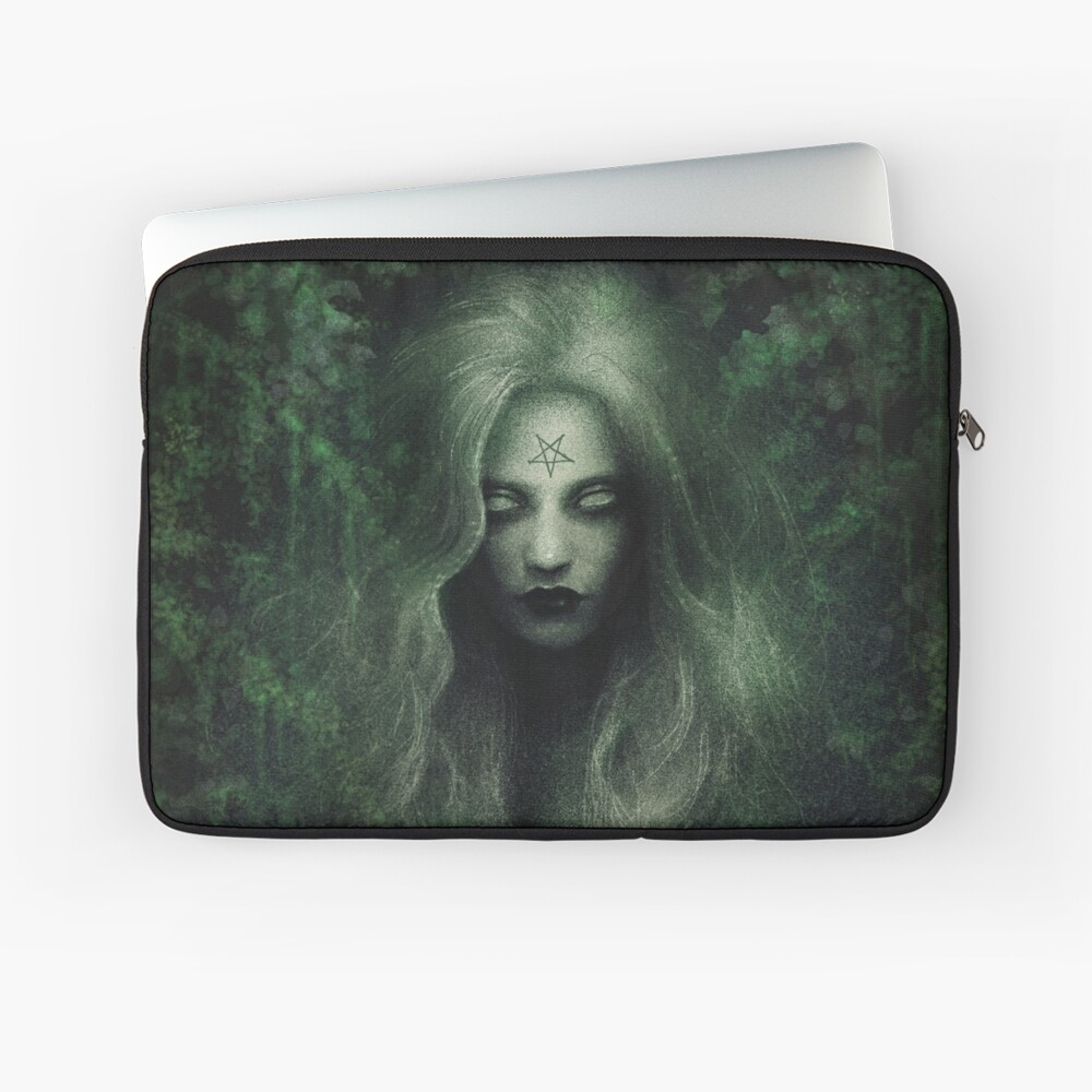 Forest Witch Laptop Sleeve