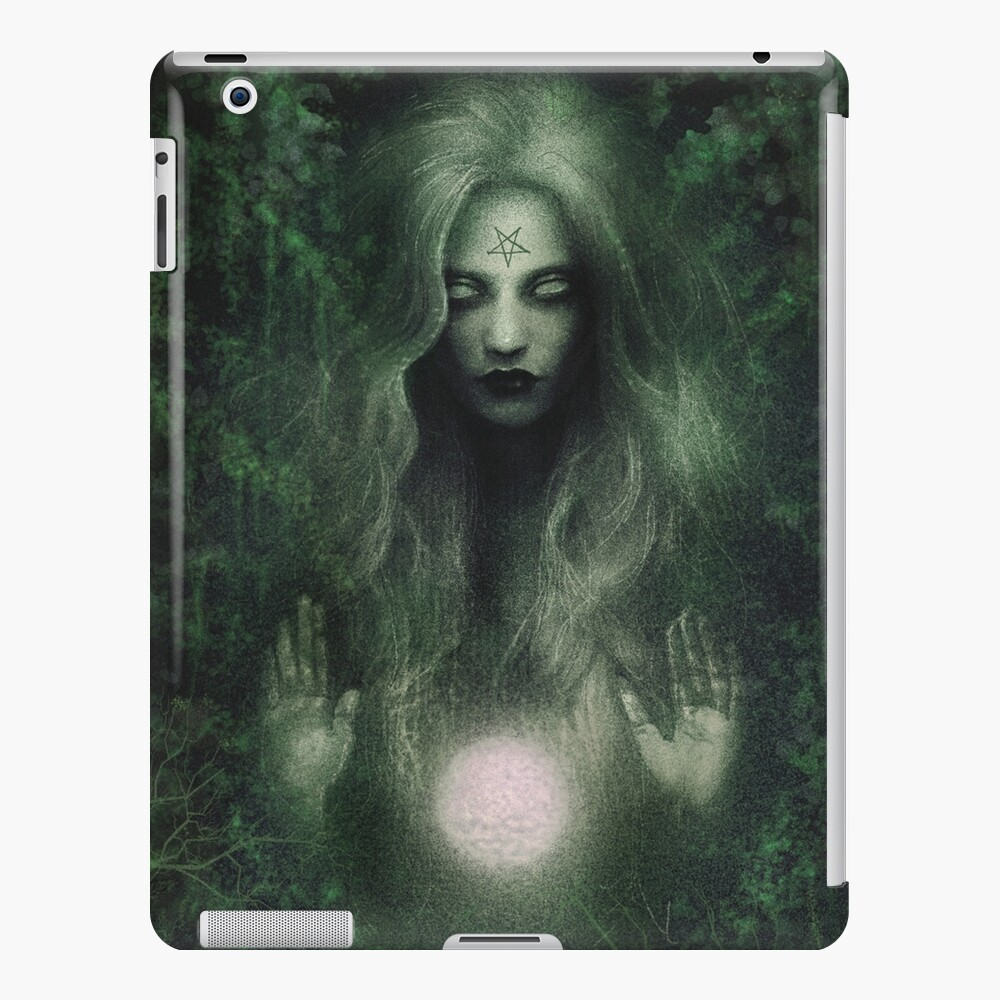 Forest Witch iPad Case & Skin