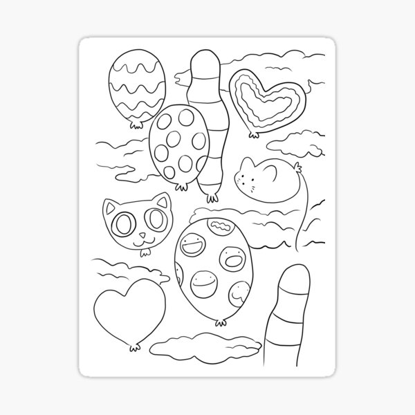 The Lost Balloons Sticker