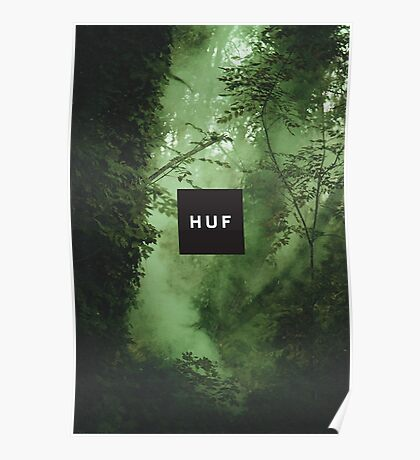 HUF - WOODS Poster