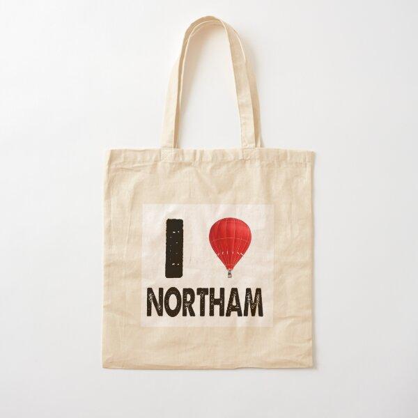 I LOVE NORTHAM Cotton Tote Bag