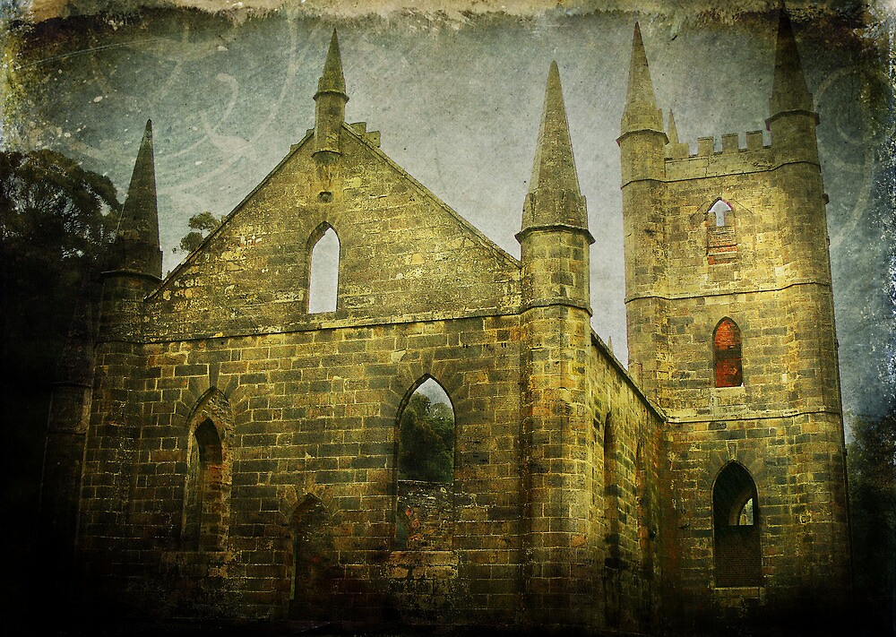 Old Church Facade by Carol Knudsen