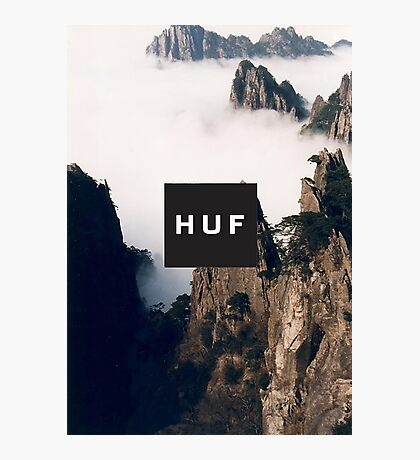 HUF - CLOUDED MOUNTAINS Photographic Print