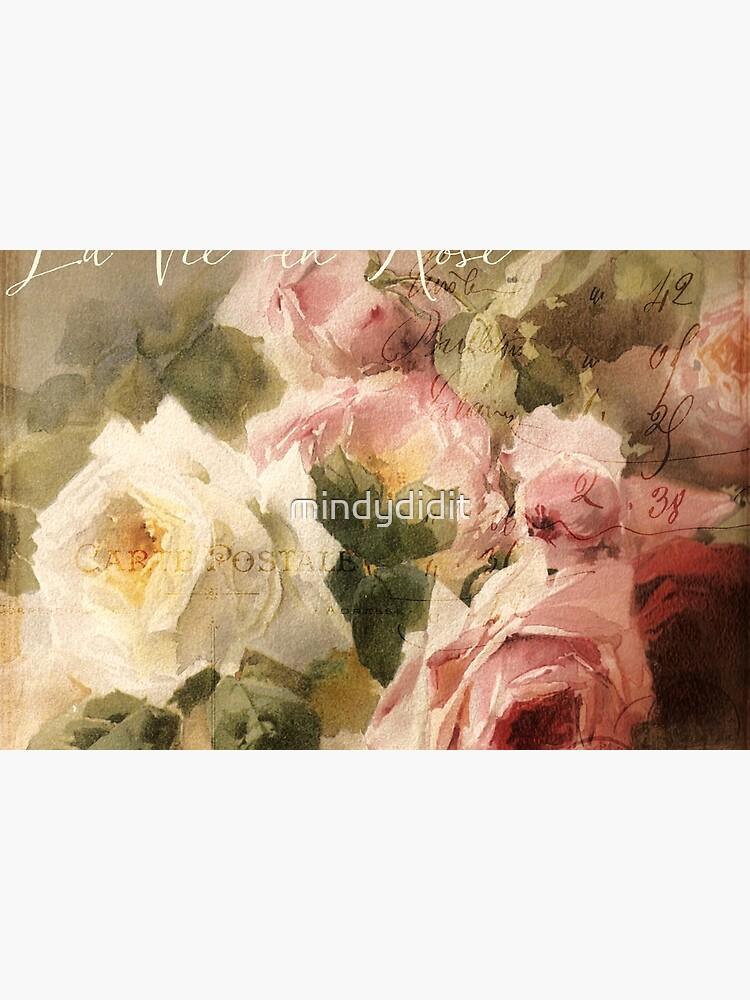 La Vie en Rose by mindydidit