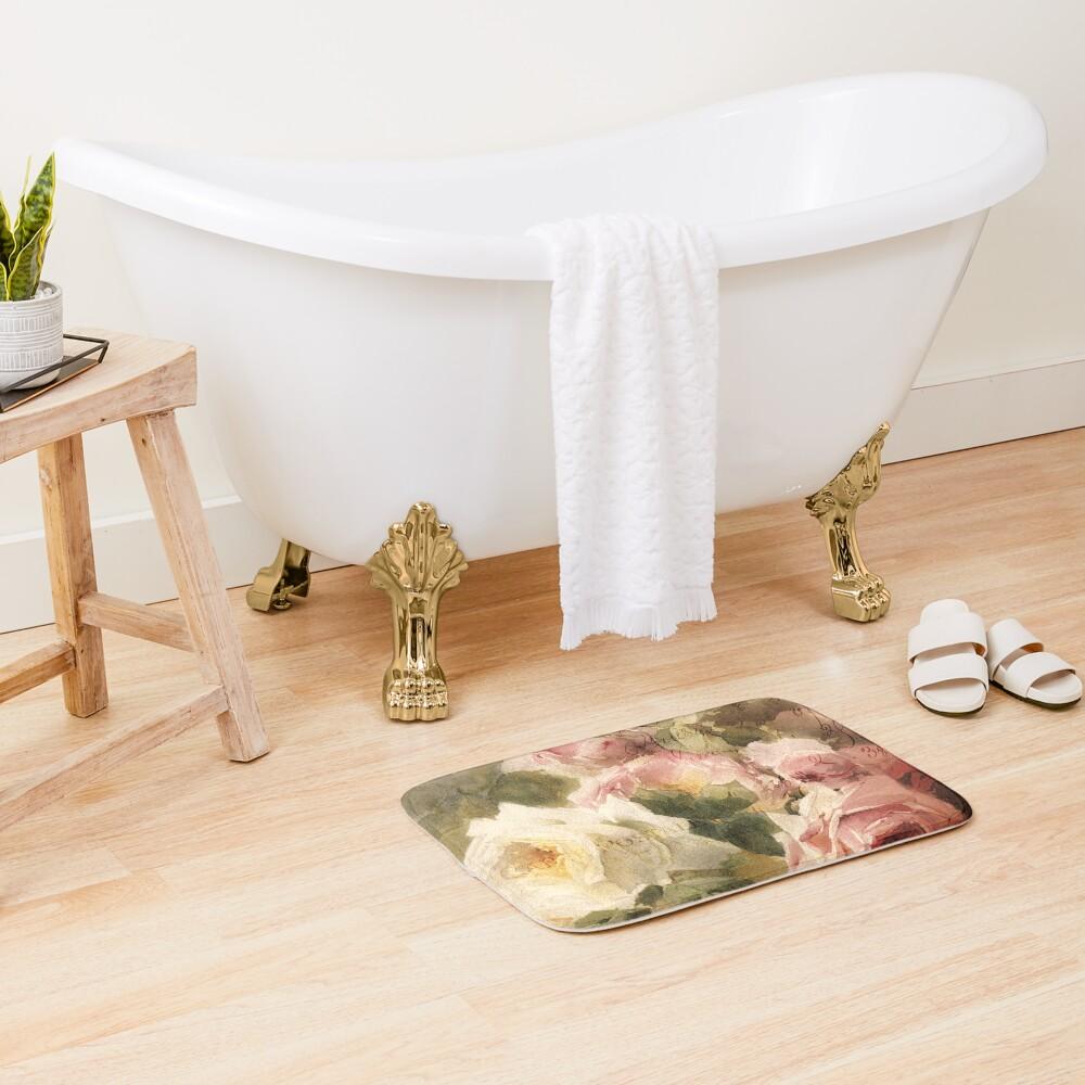 La Vie en Rose Bath Mat