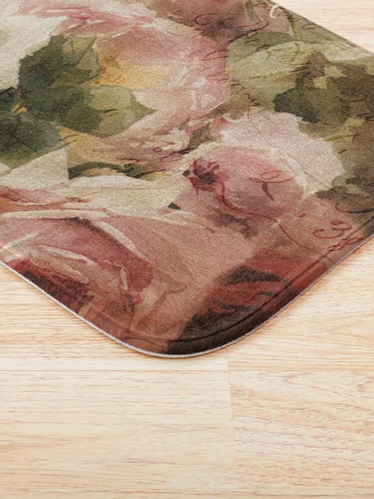 Alternate view of La Vie en Rose Bath Mat