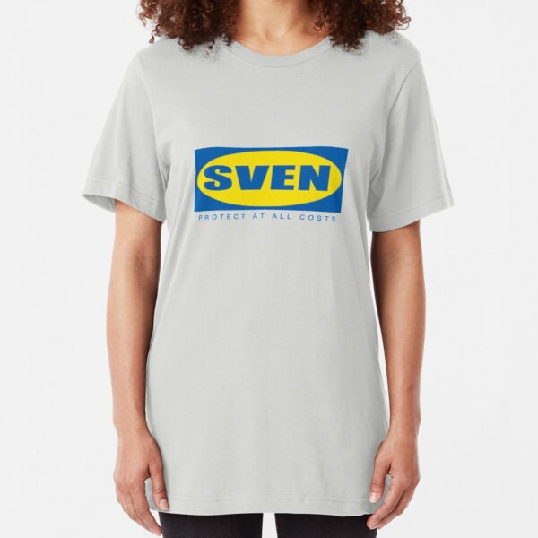 SVEN Protect at All Costs Meme  Slim Fit T-Shirt
