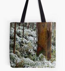 rainforest snow Tote Bag