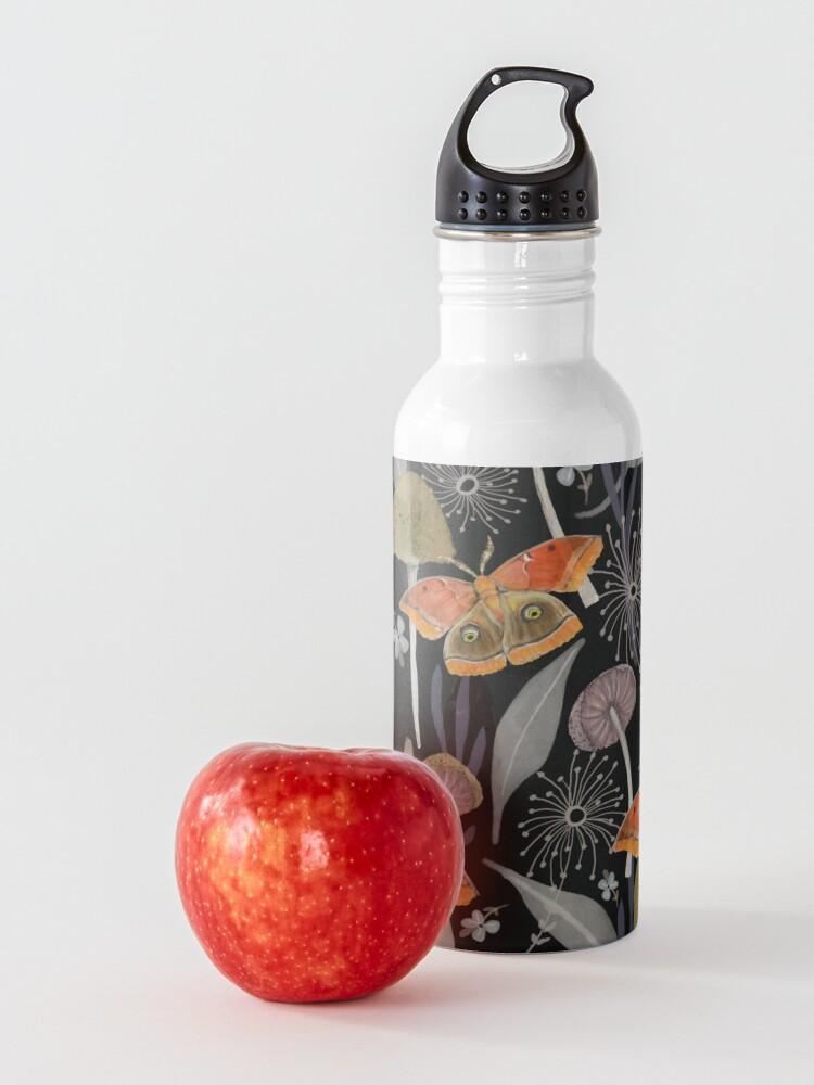 Alternate view of Midnight Moth Water Bottle