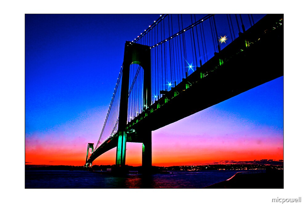 The Verazano Bridge by micpowell