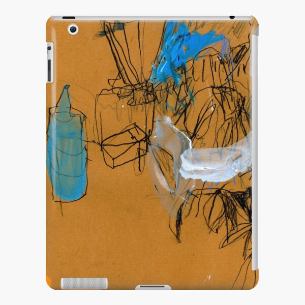 blue bottle iPad Snap Case