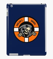 Sailor's Grave - Life Ring Reaper  iPad Case/Skin