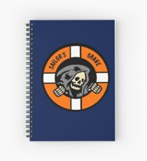 Sailor's Grave - Life Ring Reaper  Spiral Notebook