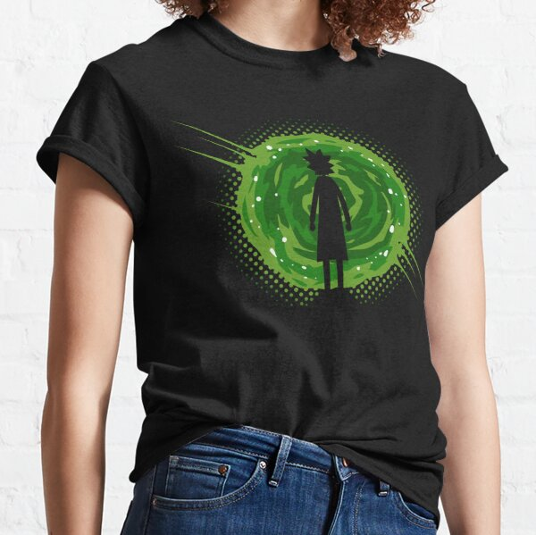 Through The Portal  Classic T-Shirt