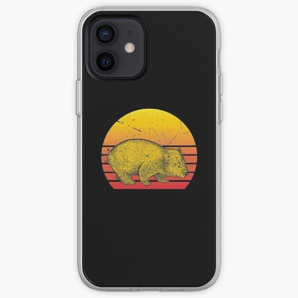 Wombat vintage iPhone Soft Case