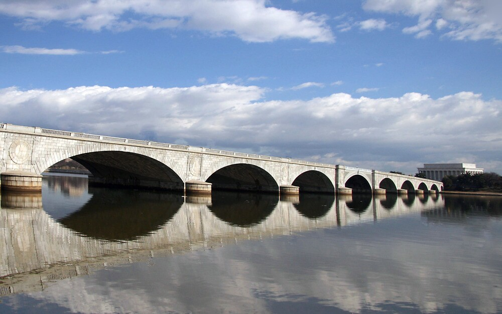 Arlington Memorial Bridge by Cora Wandel
